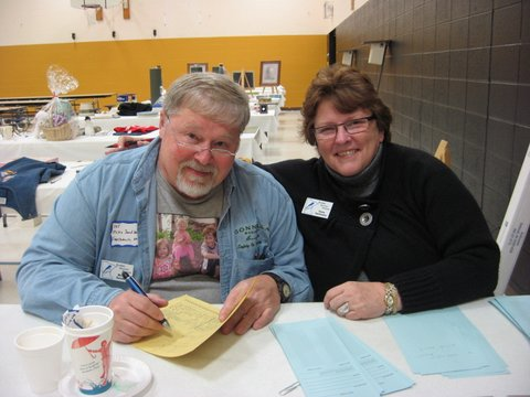 Silent Auction: Mike Sandberg and Diane