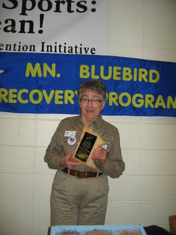 Congratulations to Bluebirder of the Year Marlys Shirley